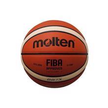 კალათბურთის ბურთი MOLTEN BGG7X-X FIBA ტოპ შეჯიბრის, სინთ. ტყავი