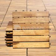 იატაკი ასაწყობი სატერასე OT01/6 30x30x2.4 სმ აკაცია