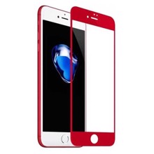 REMAX Caesar 3D Tempered Glass for iPhone 7 Red ეკრანის დამცავი