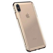 Baseus ARAPIPH65-SF0V for iPhone XS Max Transparent/Gold ქეისი