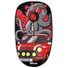 TRUST SKETCH SILENT WIRELESS MOUSE RED მაუსი