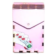 Tibox • ტიბოქს ხის ყუთი Pink Weed