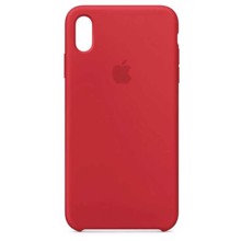 Apple Silicone Case for iPhone XS Max (PRODUCT) RED ქეისი