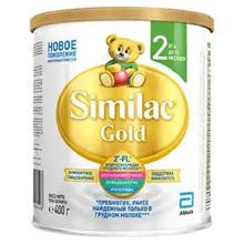 Similac Gold 2 რძის ნაზავი 400 გრ