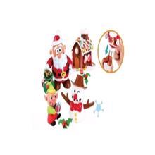 Playgo სანტა და თოვლის კაცი - 2 ფერადი პლასტილინით