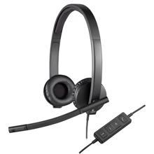 Logitech H570E Black ყურსასმენი