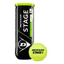 Dunlop Stage 1 ჩოგბურთის ბურთი 3 ც