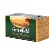 Greenfield შავი ჩაი Classic Breakfast 50 გრ