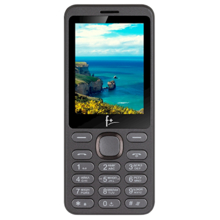 F+ S286 Dark Grey მობილური ტელეფონი