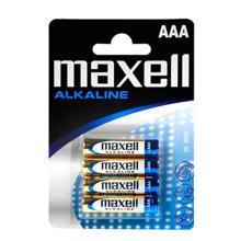 maxell ელემენტების 4 ცალიანი შეკვრა AAA ზომა