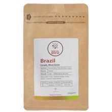 ყავის მარცვლები Brazil Cerrado Minas