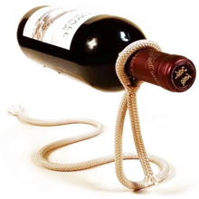 კლიკი თოკის ფორმის ღვინის ბოთლის სადგამი