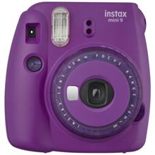 Fujifilm Instax Mini 9 Clear Purple ფოტოაპარატი