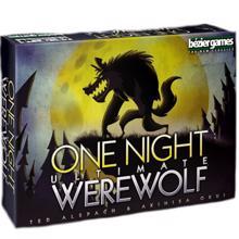 bezier games სამაგიდო თამაში One Night Werewolf