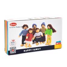 Baby Corner ონშაინი ხის სათამაშო ფიგურები ბედნიერი ოჯახი