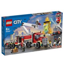 Lego CITY -Fire Command Unit  კონსტრუქტორი