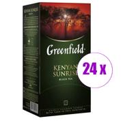 1 შეკვრა შავი ჩაი ერთჯერადი Greenfleld