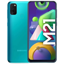 Samsung Galaxy M21 4/64GB LTE Green მობილური ტელეფონი