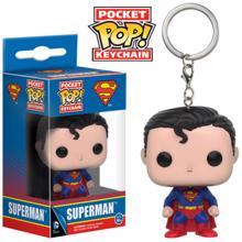 Film House Funko pop Superman პატარა ბრელოკი