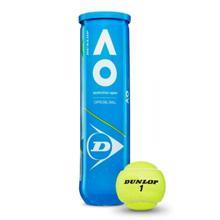 Dunlop ჩოგბურთის ბურთი 4 ცალი DUNLOP AUSTRALIAN OPEN
