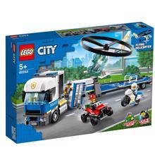 lego CITY ვერტმფრენის ტრანსპორტი