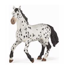 PAPO შავ-თეთრი ცხენი