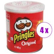 4 შეკვრა ჩიფსი Pringles Original 40გრ