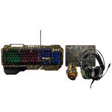 CANYON კლავიატურა + მაუსი + მაუსპადი + ყურსასმენი 4in1 Gaming set