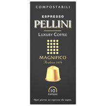 Pellini ყავის კაფსულა Espresso Pellini Luxury Coffee Magnifico in self-protected compostable Nespresso®* compatible capsules