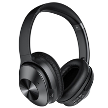 REMAX RB-600HB Active Noise Cancelling Over Ear Headphone Black ყურსასმენი