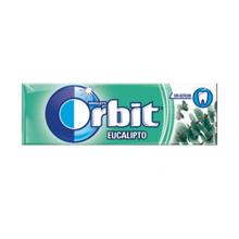 Orbit საღეჭი რეზინი ევკალიპტის არომატით 10 გრ