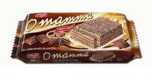 შოკოლადით სავსე ტორტი  O'MAMMA choco  300  გრ
