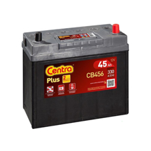 Centra აკუმულატორი Centra PLUS CB456 45 A/h JIS