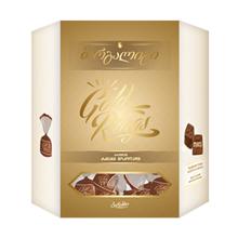 """Barambo შოკოლადის ნაკრები """"მარგალიტი"""" ოქროსფერი 229 გრ"""