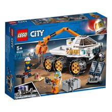 lego City - ავტომობილის ტესტირება