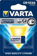 Varta ელემენტი ლითიუმის VARTA CR123A 3V 1 ც