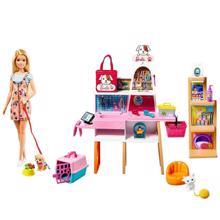 MATTEL Barbie  ცხოველების მოსავლელი ნაკრები