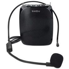 SHIDU S258 მიკროფონი ხმის გამაძლიერებლით