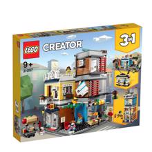 lego CREATOR-ცხოველების მაღაზია და კაფე