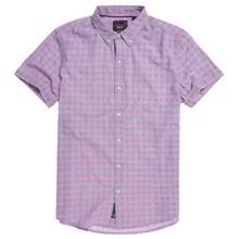 Superdry CLASSIC DOBBY S/S SHIRT მამაკაცის პერანგი