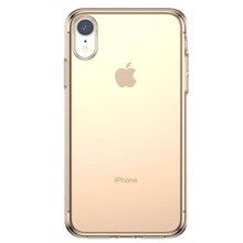 Baseus ARAPIPH61-B0V iphone XR Transparent/Gold ქეისი
