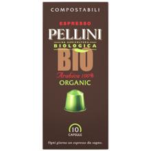 Pellini ყავის კაფსულა Espresso Pellini Bio Arabica 100% in self-protected compostable Nespresso®* compatible capsules