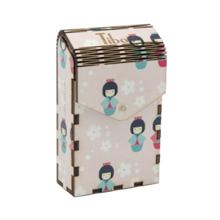 ხის ყუთი Japan Girl