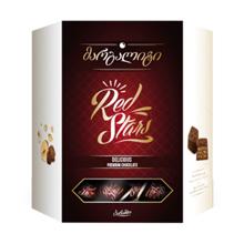 """Barambo შოკოლადის ნაკრები """"მარგალიტი"""" წითელი 219 გრ"""