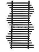 საშრობი დეკორატიული Dekorpan Meduna 600/1200 Black Matt