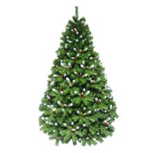 oHoHo ნაძვის ხე 210 სმ (გირჩებით და კენკრით, შერეულად დათოვლილი)