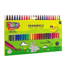 Globo ფლომასტერების ნაკრები 24 ფერი Color Markers