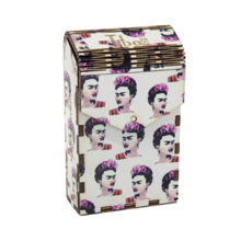 Tibox • ტიბოქს ხის ყუთი Frida Kahlo