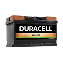 Duracell აკუმულატორი Starter DS70 70 A/h JIS