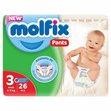Molfix ბავშვის საფენი N3 #26